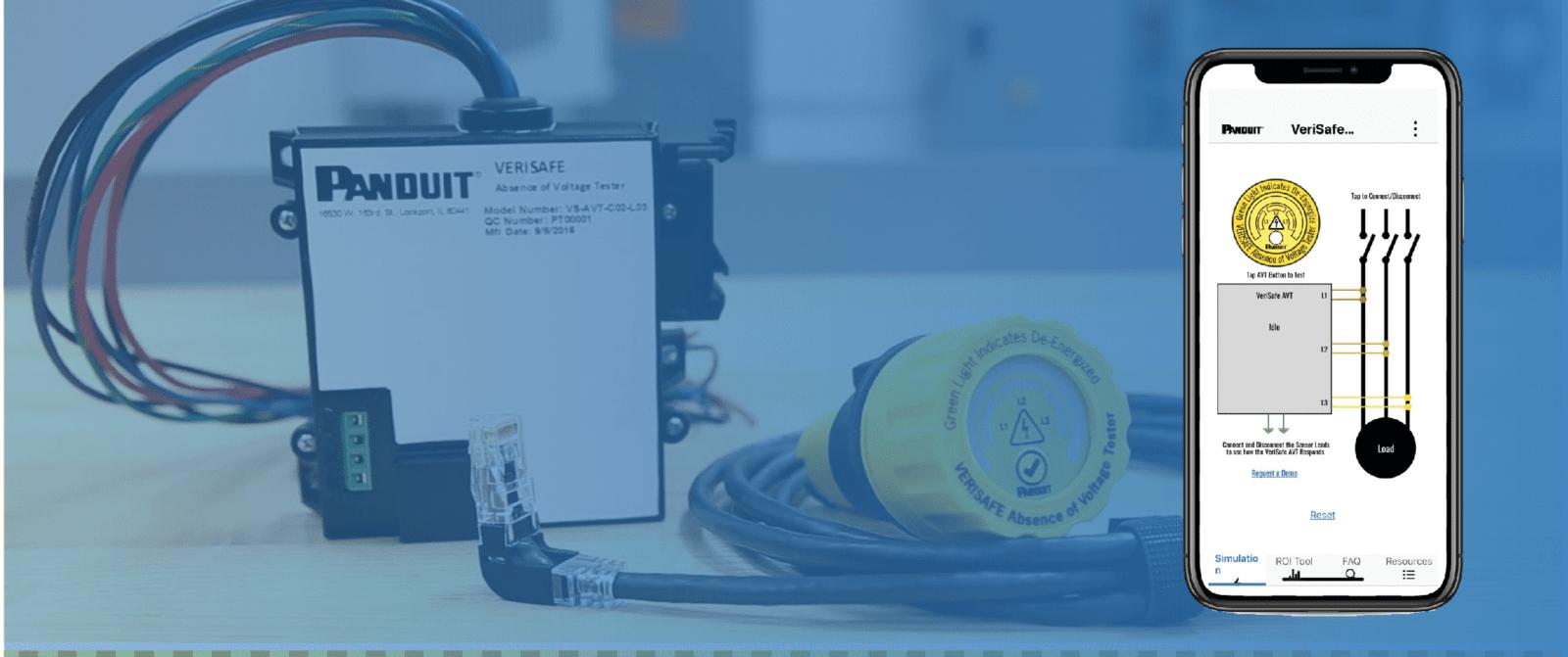 VeriSafe ™ это безопасный способ проверить отсутствие напряжения нажатием одной кнопки, для низковольтного оборудования до 600В.