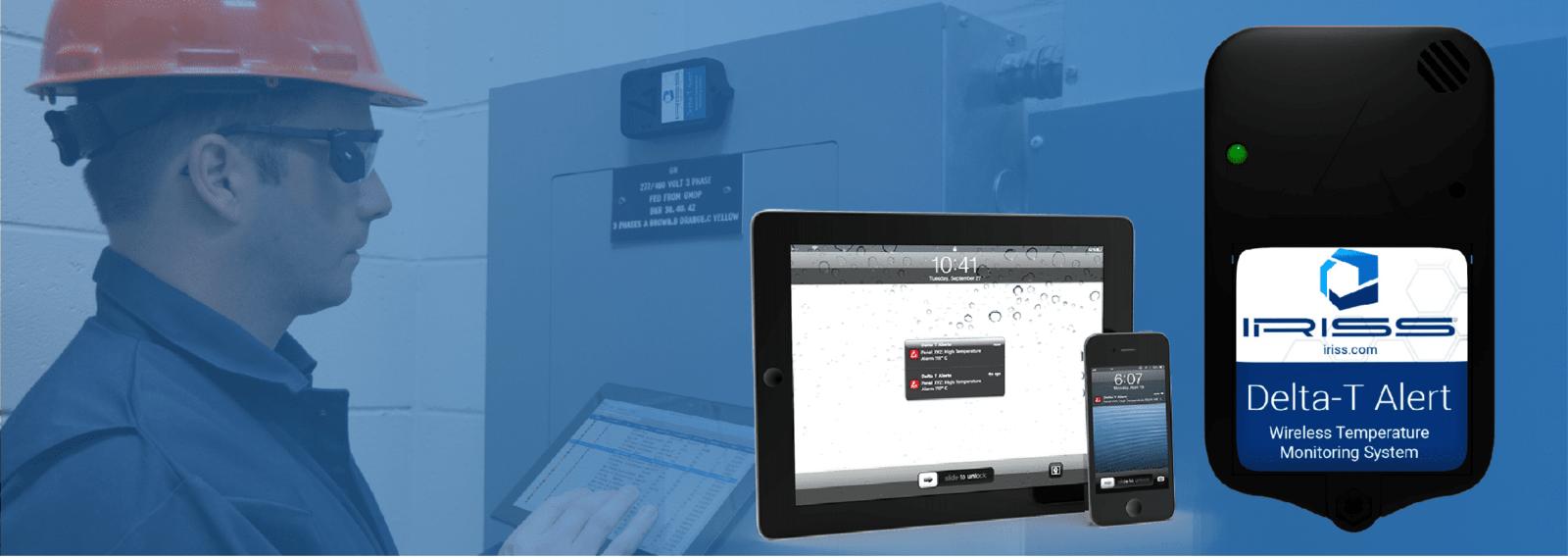 Delta T - Беспроводная система контроля температуры, в электрических шкафах